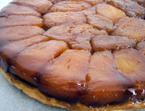 Tarte Tatin di mele (torta rovesciata)