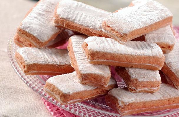 Biscotti rosa di Reims - Parliamo di Cucina