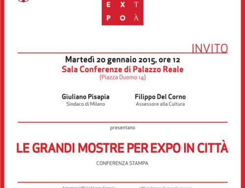 Milano in mostra per Expo 2015