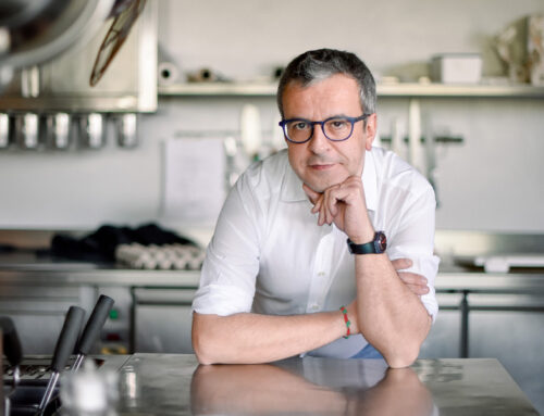 Lo scrittore in cucina